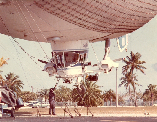 Goodyear N1A on Watson Island, Miami circa 1970
